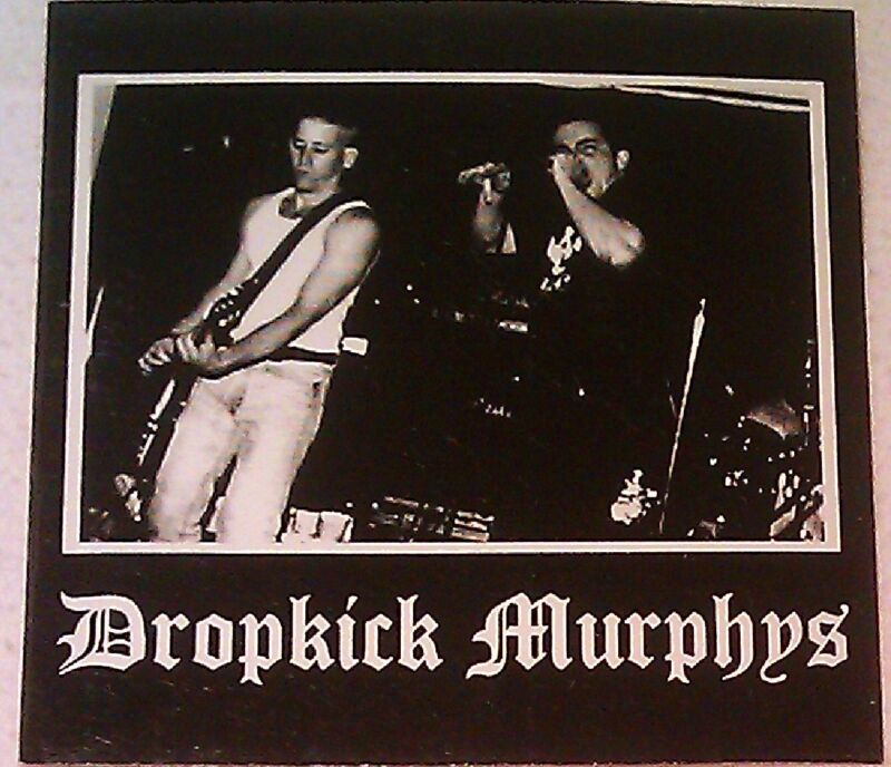 "Dropkick Murphys 4""x4"" STICKER DECAL deadstock new old stock"
