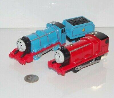 Motorized Trackmaster Thomas Friends Train Tank Engine Gordon & James Lot Works