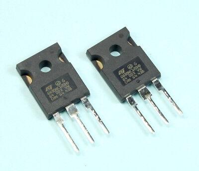 2pcs Stmicroelectronics Igbt 60a 1200v 220w To247 Stgw30nc120hd