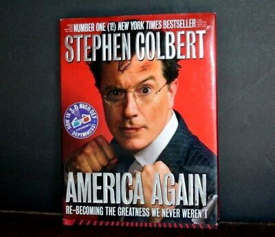 Stephen Colbert   America Again   Now In 3 D High Def   Used
