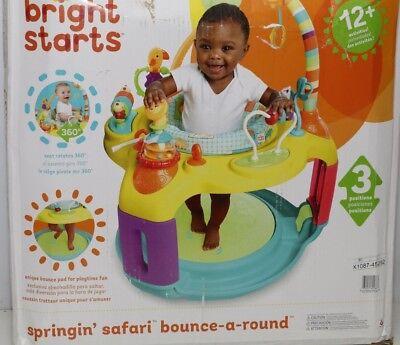 Bright Starts 60266 Springin Safari Bounce-A-Round