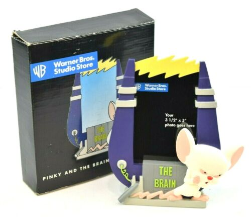 "Warner Brothers 1997 Pinky & The Brain 3.5"" X 5"" Picture Frame in Original Box"