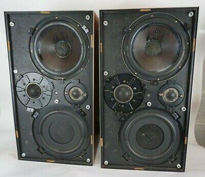 Vintage Bang & Olufsen B&O Beovox 5700 Type 6253 Speakers