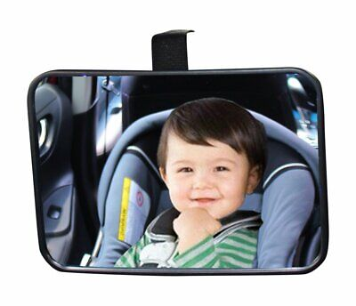Baby Back Seat Car Mirror Rear Facing View Infant Child Shatterproof Safety - $9.99