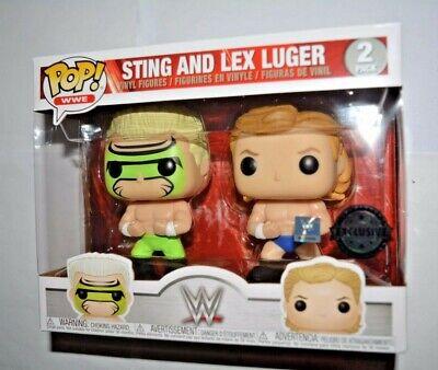 Funko Pop! WWE Wrestling 2-er Pack/ Sting & Lex Luger Vinyl-Sammelfigur ca.10 cm