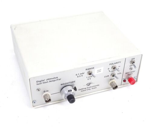 Getting Instruments Digital Stimulus Isolation Amplifier BJN8-9V1