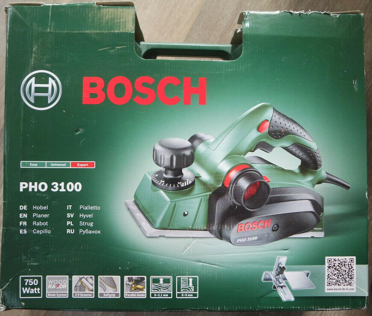 PHO20-82 2 HM Wendemesser Hobelmesser für Bosch Elektrohobel Hobel PHO 20-82