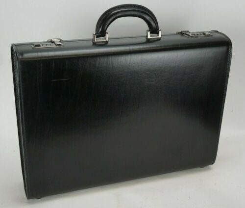 Schlesinger Leather Briefcase with Combination Locks