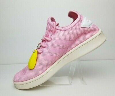 Adidas Original Women Pink Sneakers Shoes Court Adapt Tennis Size 8.5 Adidas Pink Sneakers