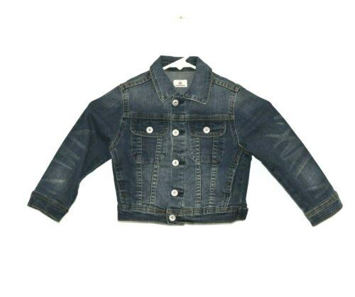 AG Adriano Goldschmied Trucker Denim Jean Jacket Kids Boys Baby Toddler Size 3T
