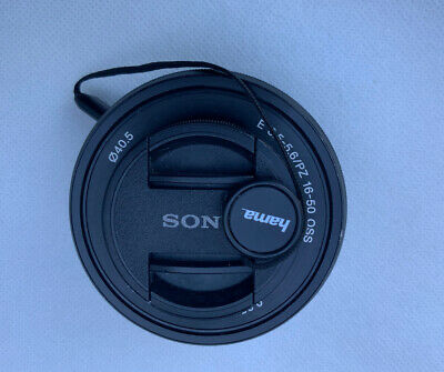 Sony SELP1650 16-50mm F/3.5-5.6 PZ OSS Lens Black - With Caps - Sony E Mount