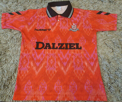 Airdrieonians Airdrie Vintage 1992/1993 Hummel Away Shirt - Youths Y image
