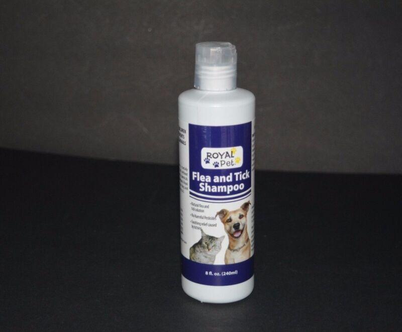 FLEA & TICK SHAMPOO FOR DOGS & CATS ( 8 FL OZ ) ROYAL PET   PolyBull com