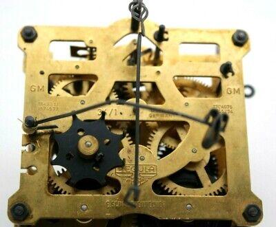 Regula E. Schmeckenbecher 34 GM Made In Germany Brass Cuckoo Clock Movement