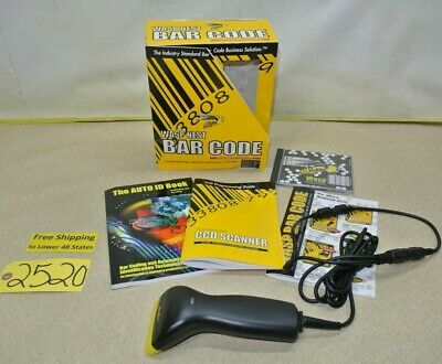 Wasp Nest Bar Code Scanner Suite Business Edition Package Retail Free Ship