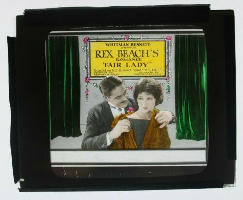 Fair Lady 1922 glass slide - Betty Blythe - free shipping