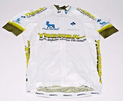 New 2017 Mens Craft Team Novo Nordisk Tresiba Ebc Aero Ss Cycling Jersey  S