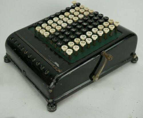 Vintage Comptometer Manual Adding Machine