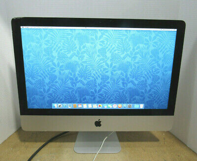 "Mid 2014 Apple iMac 21.5"" A1418 1.4GHz Core i5-4260U 8GB RAM 500GB HD OS X 10.11"
