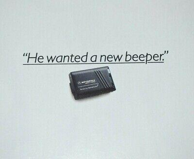 1996 Motorola America Series Beeper Pager Sears Roebuck Vintage Print Ad
