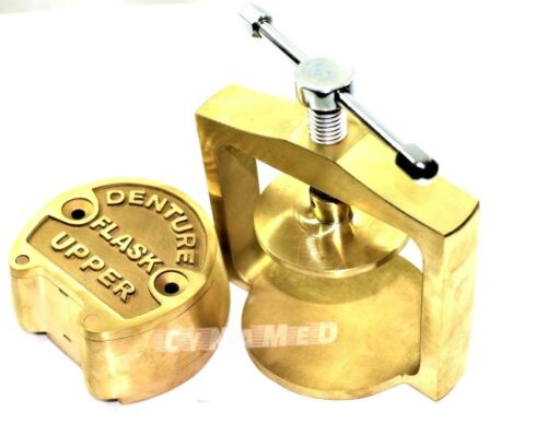 PREMIUM DENTAL LABORATORY LAB SPRING PRESS COMPRESS W/ONE BRASS DENTURE FLASK