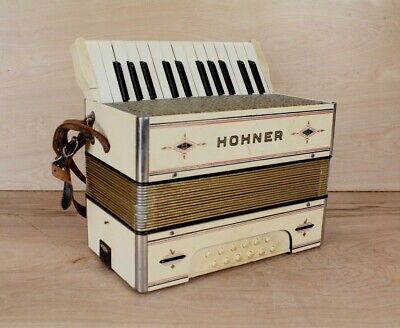 Vintage M.HOHNER Germany Piano Accordion