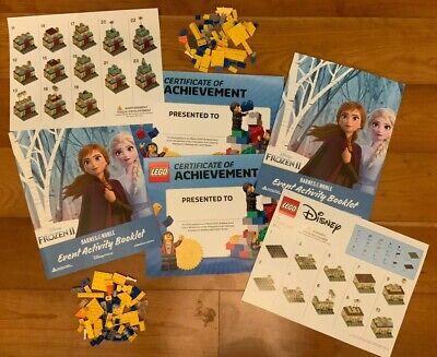 LEGO Frozen 2 Mini Arendelle Castle Barnes & Nobles Build Event + Bonus (2 Sets)