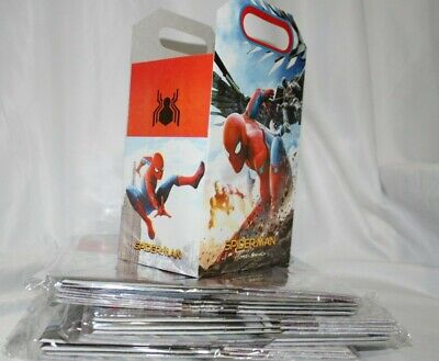 10pcs  Spiderman Theme Candy Box Kids Birthday Party Supplies Favors Gifts - Spiderman Party Themes