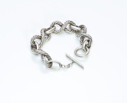 Vintage Gucci Sterling Silver Bracelet