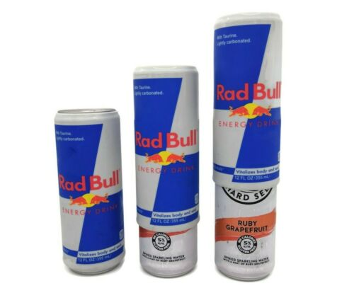 Silicone Beer Can Covers Hide A Beer (3 PACK) Rad Bull White Claw Cover Sleeve