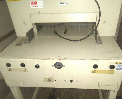 Lista Paper Cutter Ideal 5250 Paper Cutter Working Condition 100