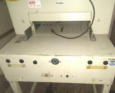 Lista Paper Cutter Ideal 5250 Paper Cutter Working Condition 100