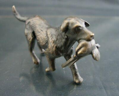 BRONZE Figure - GUN DOG - 2.5