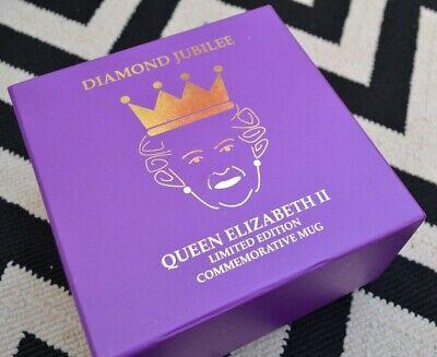 Queen Elizabeth II Diamond Jubilee Limited Edition Commemorative Mug