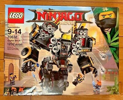 LEGO NINJAGO MOVIE QUAKE MECH (70632) - OPEN BOX - CONTENT NEW & SEALED