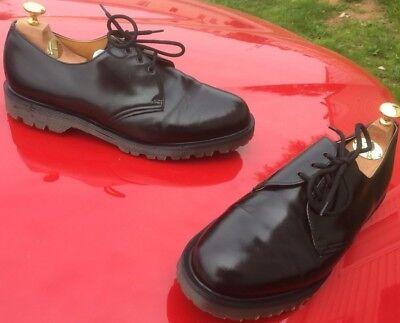 Dr Martens 1461 black leather shoes UK 10 EU 45 Made in England