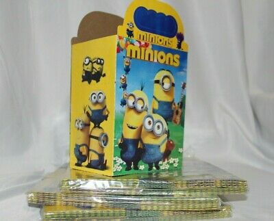 Minion Themed Party (10pcs Minions  Theme Candy Box Kids Birthday Party Supplies Favors Gifts)