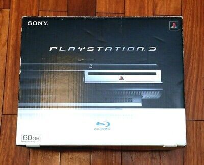 PlayStation 3 console CECHA00 60GB Backwards Compatible boxed Japan PS3 system