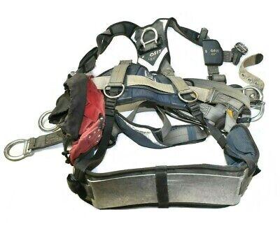 Dbi Sala Exofit Nex Tower Climbing Safety Harness Seat 1113191 - Medium