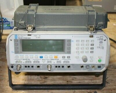 Wg Wandel Goltermann Psm-37 Selective Meter Level Measuring Set 50 Hz- 8 Mhz