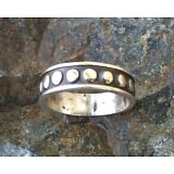 Sterling Silver Solid .925 Handmade Ring NEW - Size 8