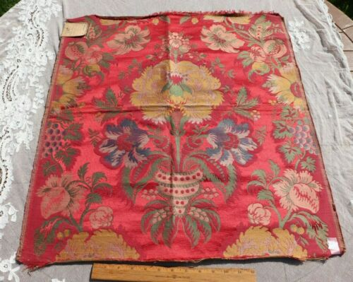 "Original Antique 19thC French ""Hamot Bros"" Silk Manufacturer"