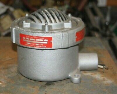 Federal Signal Explosion Proof Vibrating Horn 31x-120-3