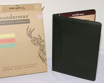 Wundermax Padfolio Portfolio Executive Leather Padfolio