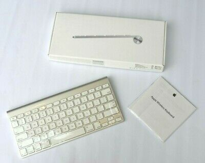 APPLE Wireless Keyboard boxed Bluetooth connectivity imac macbook pro air mini