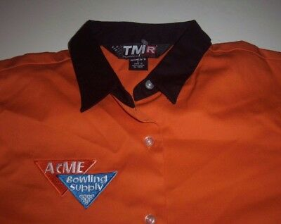 BOWLING Team ACME SUPPLY Company NWOT Women's Shirt FREE Shipping size Large
