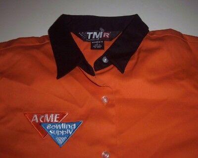 BOWLING Team ACME SUPPLY Company NWOT Women's Shirt FREE Shipping size Large