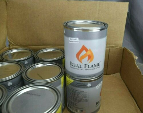 Real Flame 13 oz Premium Gel Fireplace Fuel - Case of 21