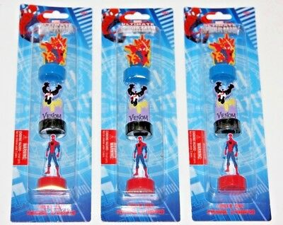 MARVEL LASER CUT STAMPER FIGURE ULTIMATE SPIDERMAN VENOM  PARTY FAVORS BAG - Venom Party Supplies