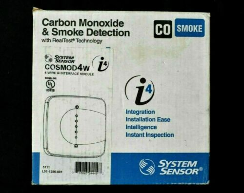 System Sensor COSMOD4W i4 Series 4-Wire Smoke CO Detector Interface Module